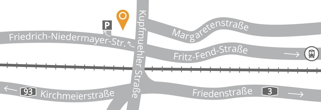 Anfahrt_Praxis_für_Endodontie_Regensburg